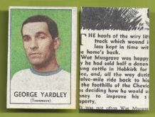 Tranmere Rovers George Yardley 1969